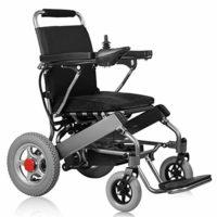 Silla de ruedas portátil ligera Frpower plegable movilidad eléctrica para ...