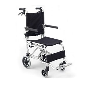 Transit Silla de ruedas | Silla de ruedas plegable de aluminio | Silla...
