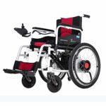 Wlylyh Cozy Wheelchair Plegable Batería de litio eléctrica L ...