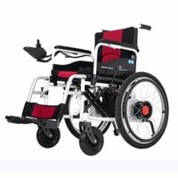 Wlylyh Cozy Wheelchair Plegable Batería de litio eléctrica L ...