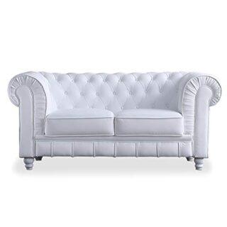 Adec - Chesterfield, Sofa de Dos plazas, Sillon Descanso 2 Personas Ac...