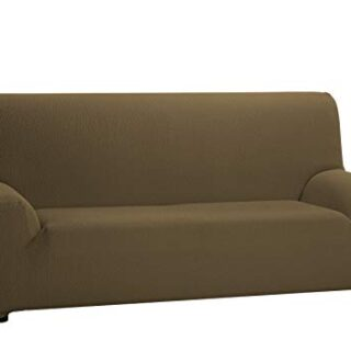 Martina Home Tunez Funda DE Sofa, Cuero, 3 Plazas