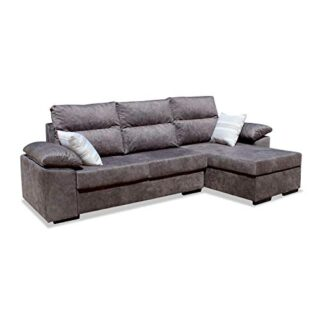 Muebles Baratos Sofa con Chaise Longue, 3 plazas, Subida A Domicilio, ...