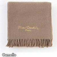 Plaid para Cama y Sofá Modelo 900 PARIS, Color CAMEL 18, Medida: 140x1...