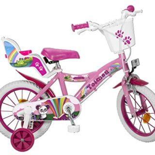 TOIMSA 14111 Fantasy - Bicicleta de 14 pulgadas (4-6 años)