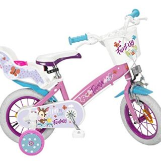 TOIMSA Fantasy Walk - 12 Inch Bicycle (3-5 years), Multicolor