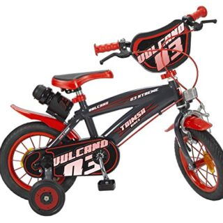 TOIMSA Vulcano - Bicicleta de 12 pulgadas (3-5 años)