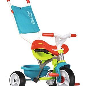 Be move triciclo confort azul con volquete y ruedas silenciosas (Smoby ...