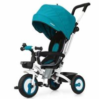 Bicicleta triciclo plegable para bebé Fascol 4 en 1 bicicleta triciclo para niños ...