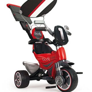 INJUSA (325 triciclo corporal deportivo Evolution para niños con control parental ...