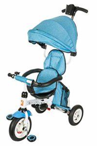 Kidz Motion Kids Tobi Alex 2 Cochecito Triciclo Gris