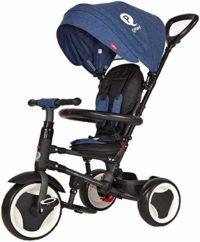 Triciclo evolutivo plegable QPLAY Rite - Azul - Niños de 10 a 36 M ...
