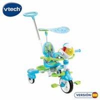 VTech- Triciclo inteligente evolutivo 4 en 1, color verde (3 ...