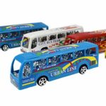 Xiuinserty Pull Back Car 14 cm City Bus, Inertial Cars Kids Toys, Vehí ...