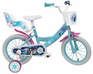 "Denver Bike Frozen, 16 ""Girls City 16"", acero azul, bicicleta blanca ..."