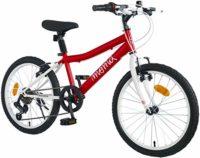 """Moma Bikes Shimando 6V - Bicicleta para niños de 20 """", Rojo, Talla única"""