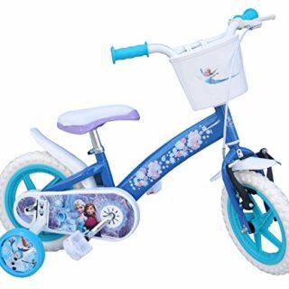 "TOIMS - Bicicleta para niños, diseño congelado, 12 """