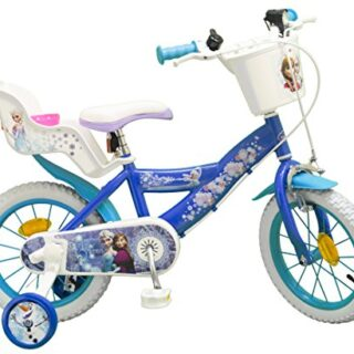 TOIMS Snow Queen: Bicicleta para niña, Color Azul, talla 16 ...