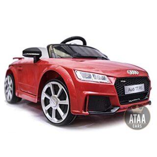 Audi TT RS 12v con licencia de control remoto - Coche eléctrico para niños - Rojo ...