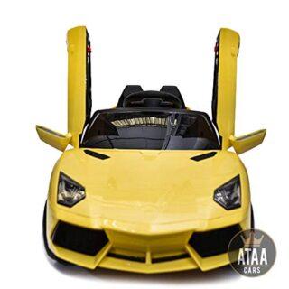 Coche eléctrico ATAA Super Sports 12v para niños con control remoto: potente ...