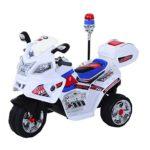 HOMCOM - Moto eléctrica para niños, batería de 6V, triciclo para niños de 3 a 8 años ...