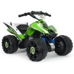 INJUSA- Kawasaki ATV estable y resistente a la batería, color verde (6605 ...