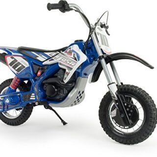 INJUSA Moto Blue Fighter X-Treme 24V para niños de 6 a 14 años con ...