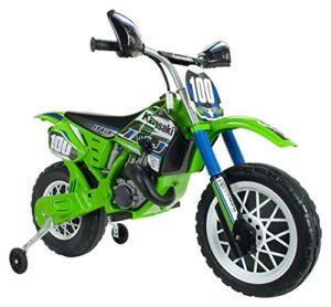 INJUSA Moto Cross Kawasaki Batería 6V Licencia para niños +3 ...