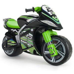 INJUSA Motocicleta Kawasaki XL Correpasillos para Niños +3 Años con Mango para ...