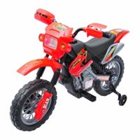 Moto eléctrica para niños Batería de 6V Batería recargable Niños 5 años Cargador y ...