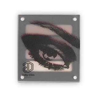 Jolly Dim Makeup - Set de sombras de ojos Chocolate. 4 colores, mates ...