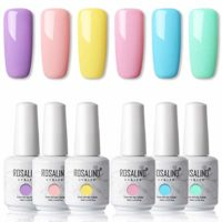 ROSALIND 15ml Esmaltes Semipermanentes de Uñas en Gel UV LED, kit de E...