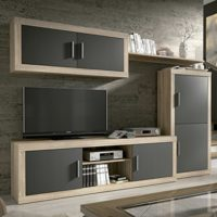HomeSouth - Mueble de Comedor, Salon Modelo Ambar, Acabado Color Cambr...