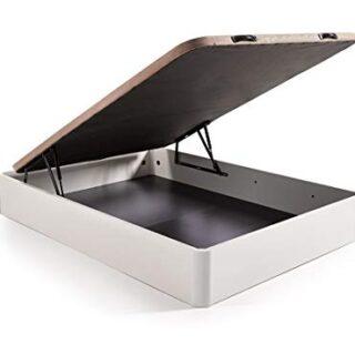 HOGAR24.es. Canapé abatible Madera Gran Capacidad con Tapa 3D y válvul...