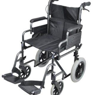 Aidapt Swallow Deluxe - Silla de ruedas autopropulsada (acero)