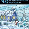Libro de Colorear para Adultos: 30 Páginas de Colorear Frío Invernal: ...