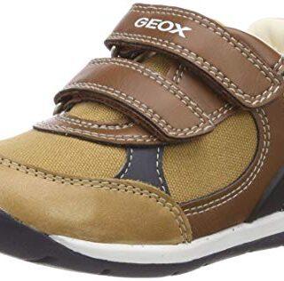 Geox Baby Each Boy, Zapatillas para Bebés, Beige (Caramel/Navy C5GF4),...