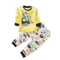 ESHOO - Pijama Dos Piezas - Manga Larga - para niños y niñas