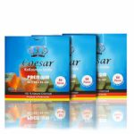 Caesar - Carbón Natural de Coco para Shisha y Barbacoa (3 kg, 2,6 cm, ...