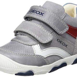 Geox B New Balu' Boy C, Zapatillas para Bebés, Gris (Grey C1006), 20 E...