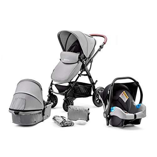 Kinderkraft Moov 3en1 - Silla de paseo de bebe,  3 piezas, multifuncti...