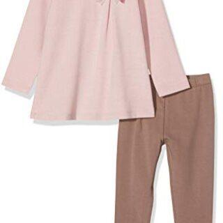 Chicco Completo Sweatshirt con Leggings Conjunto de Ropa, Blanco (Natu...