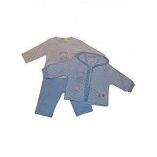 Babybol - Conjunto - para bebé niño azul claro 80