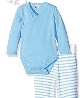 Care Conjunto de Pantalón, Body y Gorro para Bebés Azul (Alaskan Blue ...