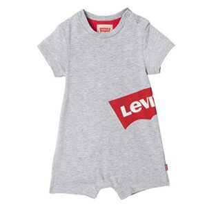 Levi's kids Nn33004 22 All in One Shortie Conjunto, Gris (Light China ...