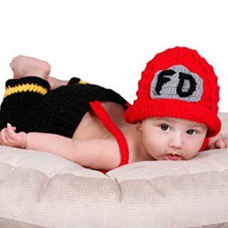 Matissa Bebé recién Nacido Accesorios de Traje de fotografía de Punto ...