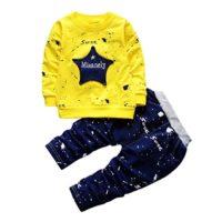 POLP Niño◕‿◕2018 Conjunto Otoño Camiseta Manga Larga Hombres,Recién Na...