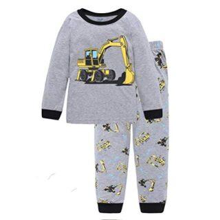 Wamvp Camiseta Tops + Pantalones de Tractor para Chico bebé niño Lindo...