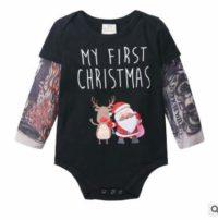 puseky mono recién nacido para bebés y niñas con estampado de tatuaje ...