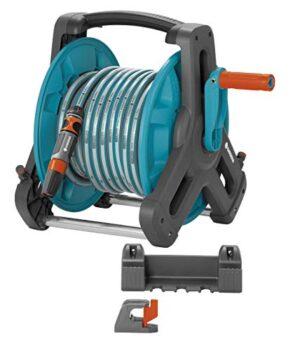 Gardena 8009-20 - Kit de soporte portamanguera mural 50